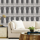 Cole & Son Procuratie  Black & Whit Wallpaper