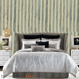 Decoratorsbest Paper Art Greyish Blue Wallpaper