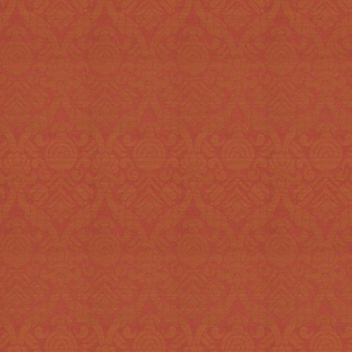 Vervain Cathar Linen Damask Field Clay Fabric - Fabric