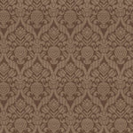 Vervain Cathar Linen Damask Walnut Fabric
