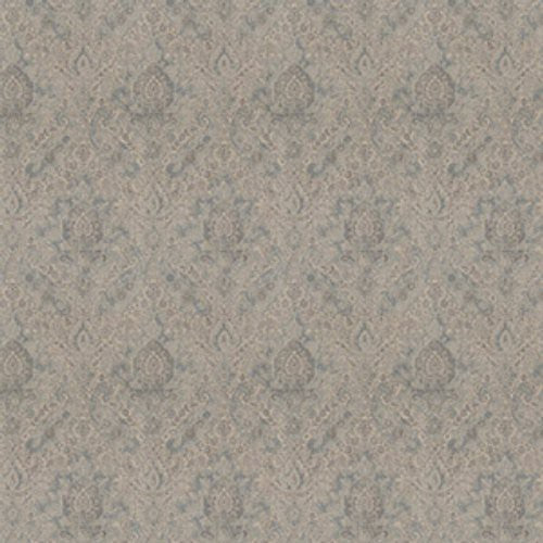 Fabricut Movies Damask Platinum Fabric - Fabric
