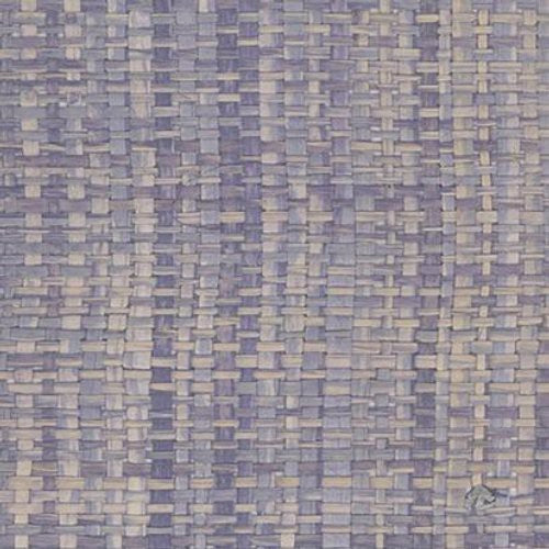 Decoratorsbest Handmade Raffia Purple Wallpaper - Wallpaper