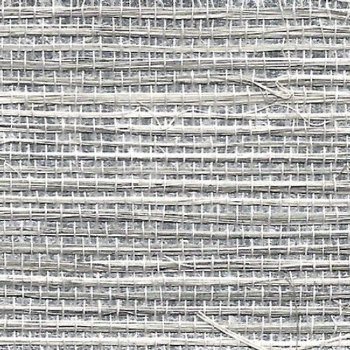 Phillip Jeffries Soho Hemp Plaza Platinum Wallpaper - Wallpaper
