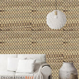 Phillip Jeffries Braided Walls Coconut Shell Wallpaper