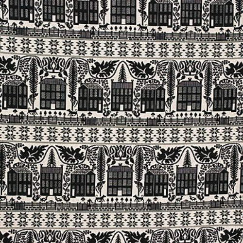 Lee Jofa Long Meadow Wea Black Fabric - Fabric