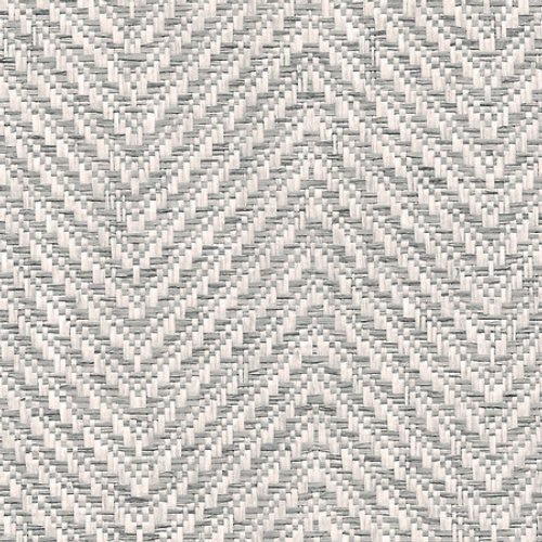 Phillip Jeffries Chevron Chic Natural Panache Wallpaper - Wallpaper