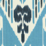 Decoratorsbest Ikat Sky Blue Wallpaper