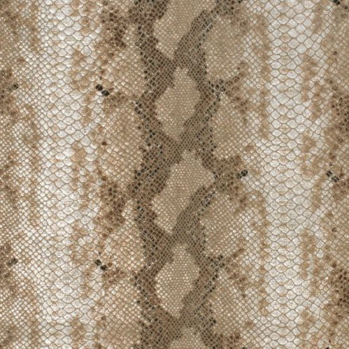 Groundworks Serpent Natural Linen Fabric - Fabric
