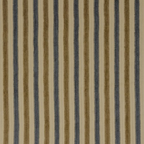 Fabricut Boundaries Blue Gold Fabric - Fabric
