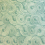 Decoratorsbest Swirls Adam'S Green Wallpaper