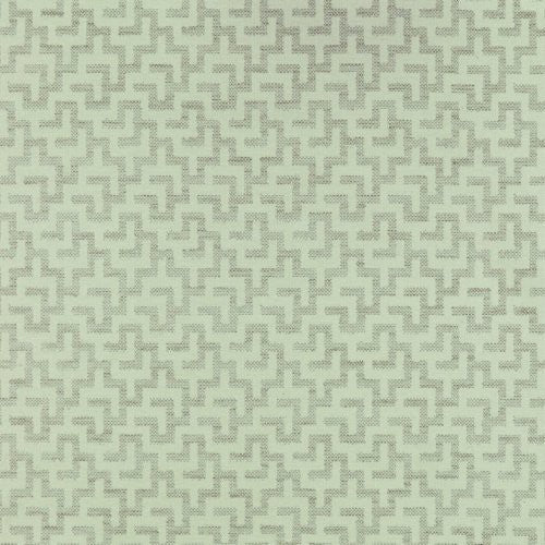 Decoratorsbest Ellum White Fabric - Fabric