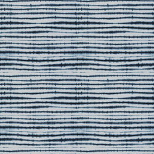 Fabricut Barbed Wire Indigo Fabric - Fabric