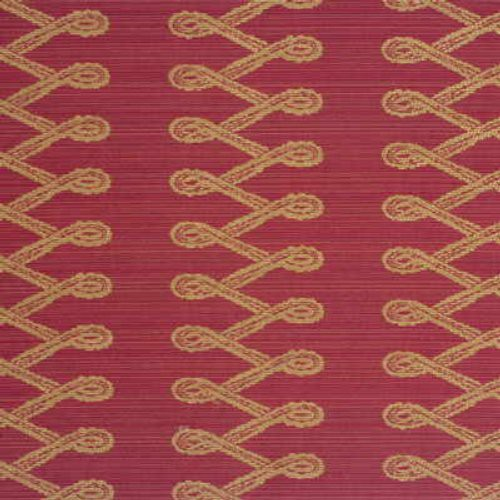 Mulberry Tunic Stripe Red Fabric - Fabric