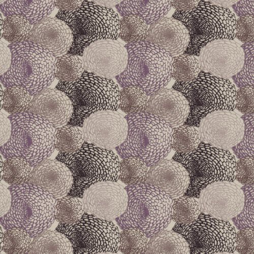 S. Harris Kiku Grape Fabric - Fabric