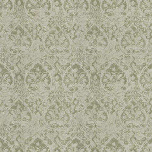 Fabricut Critique Damask Leaf Fabric - Fabric