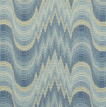 Clarence House Zigoto French Blue Fabric