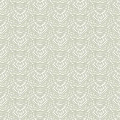 Cole & Son Feather Fan Old Olive Wallpaper - Wallpaper