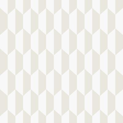 Cole & Son Petite Tile Parchment Wallpaper - Wallpaper