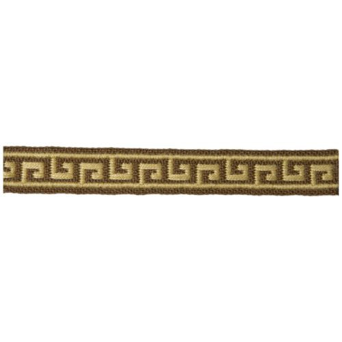 Lee Jofa Mini Greek Key Chestnut Trim - Trim