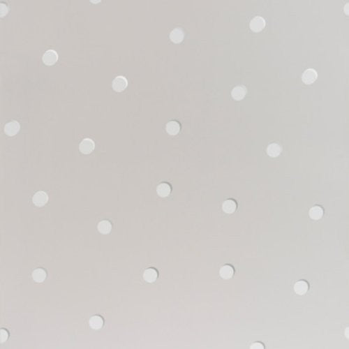 Kravet Shadow Dot Sterling Wallpaper - Wallpaper