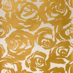 Kravet Deco Floral Gold Wallpaper