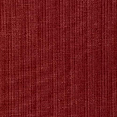 Schumacher Antique Strie Velvet Redwood Fabric - Fabric