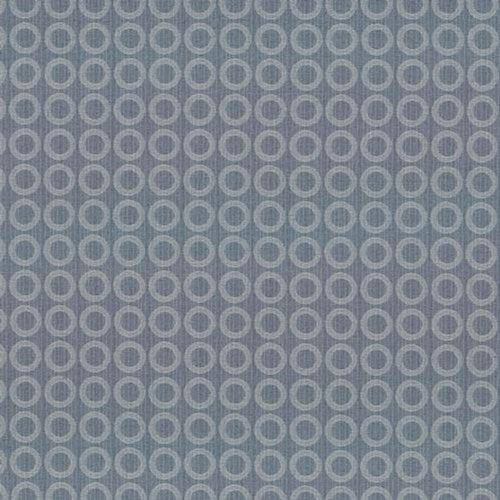 Kasmir Ring Toss Ciel Fabric - Fabric