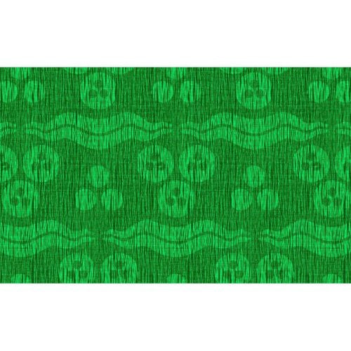 Groundworks Ragged Sultan Emerald Fabric - Fabric