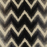 Schumacher Shock Wave Platinum & Jet Fabric