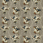 Fabricut Yawl Birds Autumn Fabric