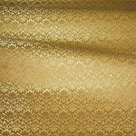 Old World Weavers Carlos Small Damask Gold Fabric