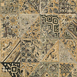 Lee Jofa Indian Blocks Pewter Fabric