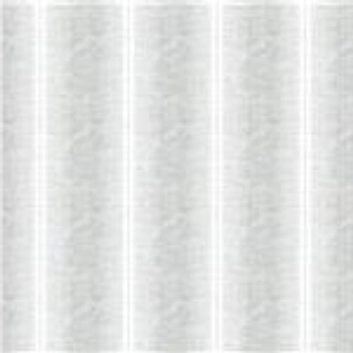 Groundworks Stripes White Voile Fabric - Fabric