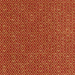Schumacher Mayan Texture Pomegranate Fabric