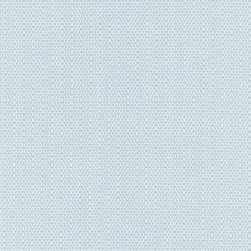 Schumacher Hampton Court Diamond Aqua Fabric - Fabric