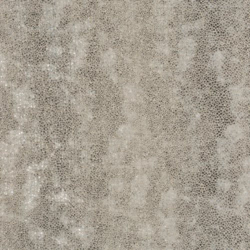 Groundworks Pyrite Silver Fabric - Fabric