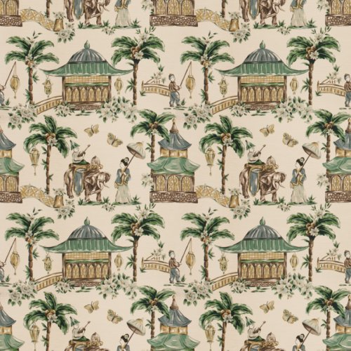 Fabricut Mougin Cypress Fabric - Fabric