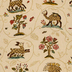 Schumacher La Menagerie Cream Fabric