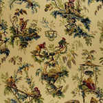 Schumacher Plaisirs De La Chine Document Fabric