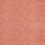 Schumacher Chevron D'Ete Coral Fabric