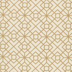 Schumacher Luan Fretwork Cane Fabric