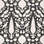 Schumacher Chenonceau Charcoal Fabric