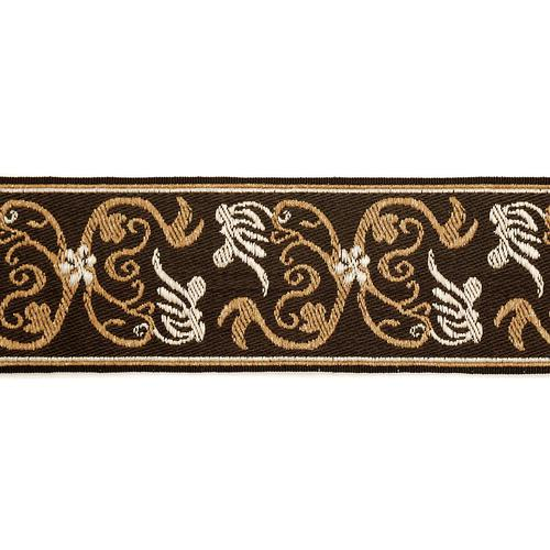 Scalamandre Siecle Grimm Braid Umber Trim - Trim
