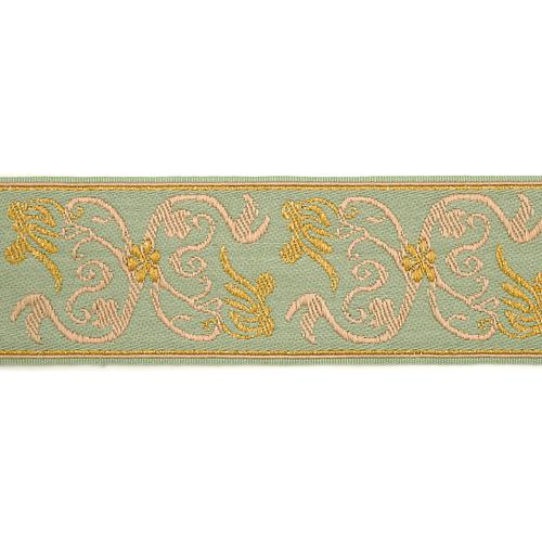 Scalamandre Siecle Grimm Braid Mint Trim - Trim