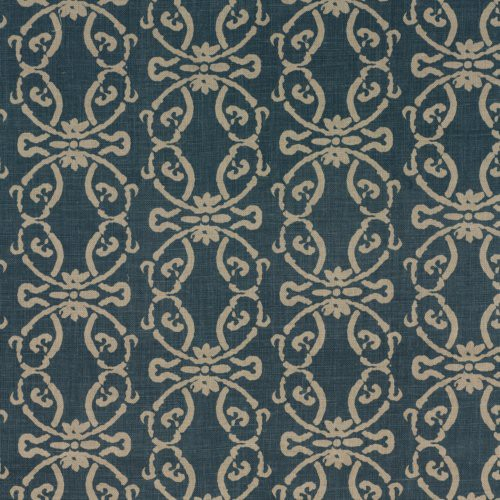 Threads Kara Indigo Fabric - Fabric