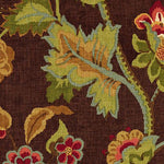 Schumacher Khantau Tree Mahogany Fabric