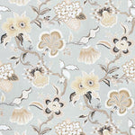 Schumacher Hothouse Flowers Mineral Fabric