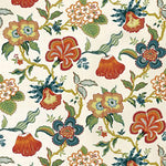 Schumacher Hothouse Flowers Spark Fabric