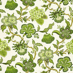 Schumacher Hothouse Flowers Verdance Fabric