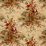 Schumacher Quail Meadow Autumn Fabric